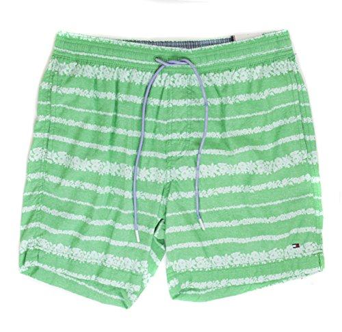 Tommy Hilfiger Men's Swim Shorts Trunks Swimwear [Green] [XL]