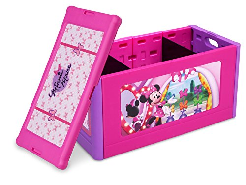 Delta Children Store and Organize Toy Box, Minnie Mouse