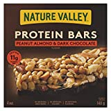 Nature Valley Protein Peanut Almond & Dark Chocolate Flavour, 4-Count, 148 Gram
