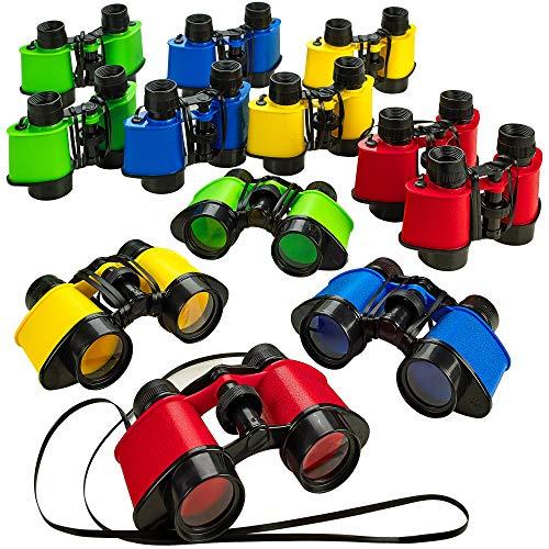 Kicko 12 Toy Binoculars