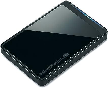 BUFFALO スリム&プレミアム USB3.0用 ポータブルHDD 1TB ブラック HD-PCT1TU3-BJ