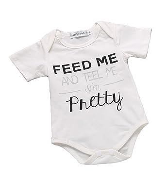 VICITY recién nacido bebé diseño de mono de una pieza Pelele ...