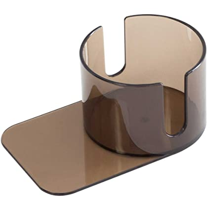 Jumbo Plastic Slide Under Poker Table Cup Holder With Cutouts By GSE