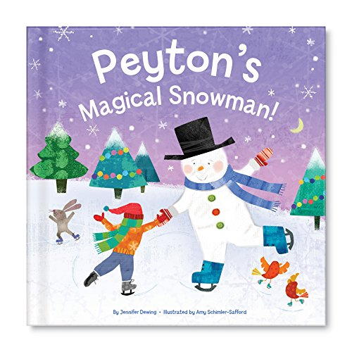 My Magical Snowman Personalized Custom Name Book: I See (Personalized Snowman)