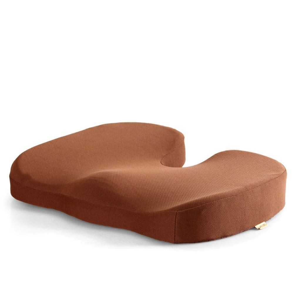 Der Gel Memory Cotton Cushion Nonlip Thicken Seat Suitable for Office Outdoor Garden Dormitory (Color : F, Size : 45x35x7cm(18x14x3inch))