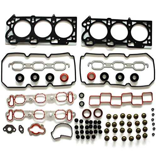 300 Manifold Bar (SCITOO Cylinder Head Gasket Set Replacement for Chrysler 300M/ Concorde/LHS/ Pacifica/Prowler Dodge Intrepid/Magnum Plymouth Prowler 3.5L V6 SOHC 24V 1999-2006 Gaskets Kit Sets)