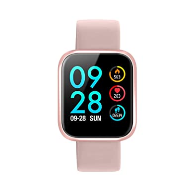 Smartwatch, Reloj Inteligente Bluetooth Smart Watch Hombres Mujeres Niños IP68 Impermeable Deportes Fitness Tracker,