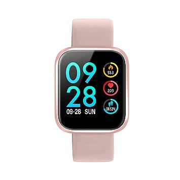 RanGuo Reloj Inteligente para Hombres Mujeres y niños, Deportes al Aire Libre Impermeable IP68 Smart