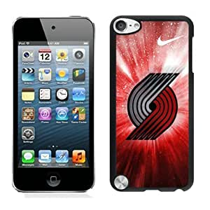 New Custom Design Cover Case For iPod Touch 5th Generation portland trail blazers 4 Black Phone Case