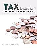 Tax Deduction Checklist 2018  that's work!