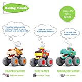 MOONTOY Toy Cars for 1 2 3 Year Old Boys, 3 Pack