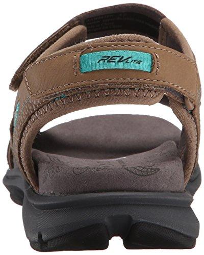 Aravon Kvinners Revsoleil Fisker Sandal Taupe