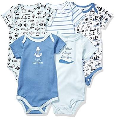 Hudson Baby Unisex Baby Cotton Bodysuit