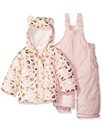 Girls' 2-Piece Heavyweight Printed Snowsuit