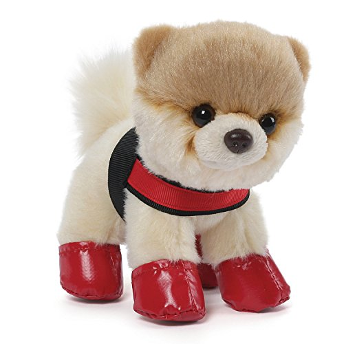 Gund Itty Bitty Boo #025 Rain Boots and Harness Plush, 5