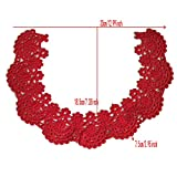 1pc Circular Beautiful Embroidery Lace Fabric DIY
