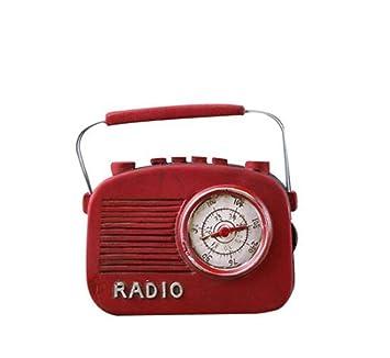 Vintage Harz Radio Handwerk Wohnaccessoires