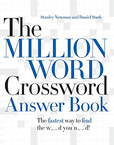 The Million Word Crossword Answer - Word Million Crossword Dictionary