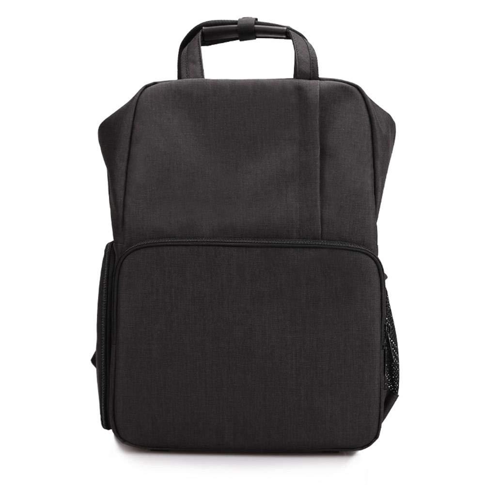PROKTH Digital Camera Bag SLR USB Rechargeable Multifunctional Men's Women's Waterproof Photography Camera Backpack-Gray,Black