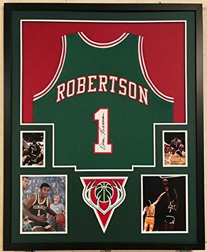f4e34629fd8 Oscar Robertson Milwaukee Bucks Memorabilia