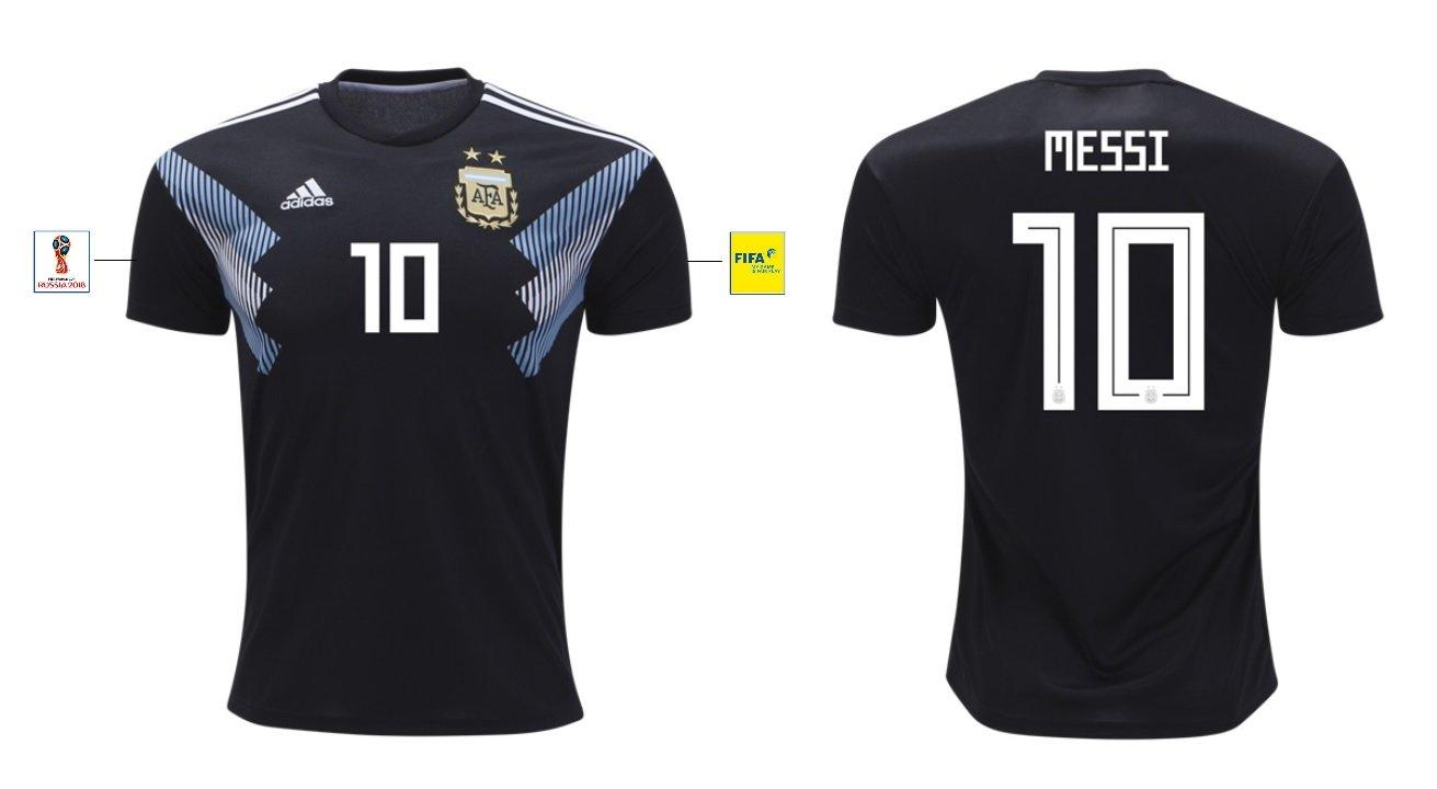 Trikot Herren Argentinien WM 2018 Away – Messi 10