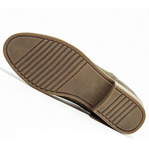 Bootie Femmes Low Suede ODEMA on Heel Chelsea Slip Ankle Chunky Noir Elastic vBwBqdp