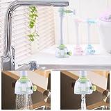 Best Bathroom Kitchen With Shower Nozzles - Kitchen Faucet Sprayer Aerator Hose Flexible Sink Attachment Review
