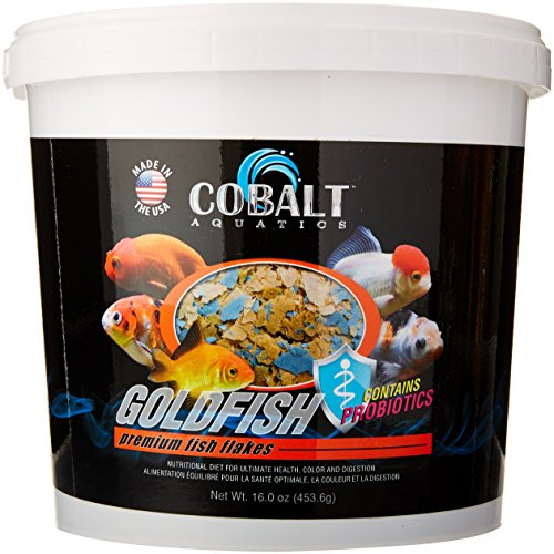 Cobalt Aquatics Goldfish Flake, 16 (Goldfish Aquatic Flake)
