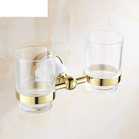 NAERFB Cepillo de Dientes de Oro/portavasos Porta Vasos/Cepillo de Copa B