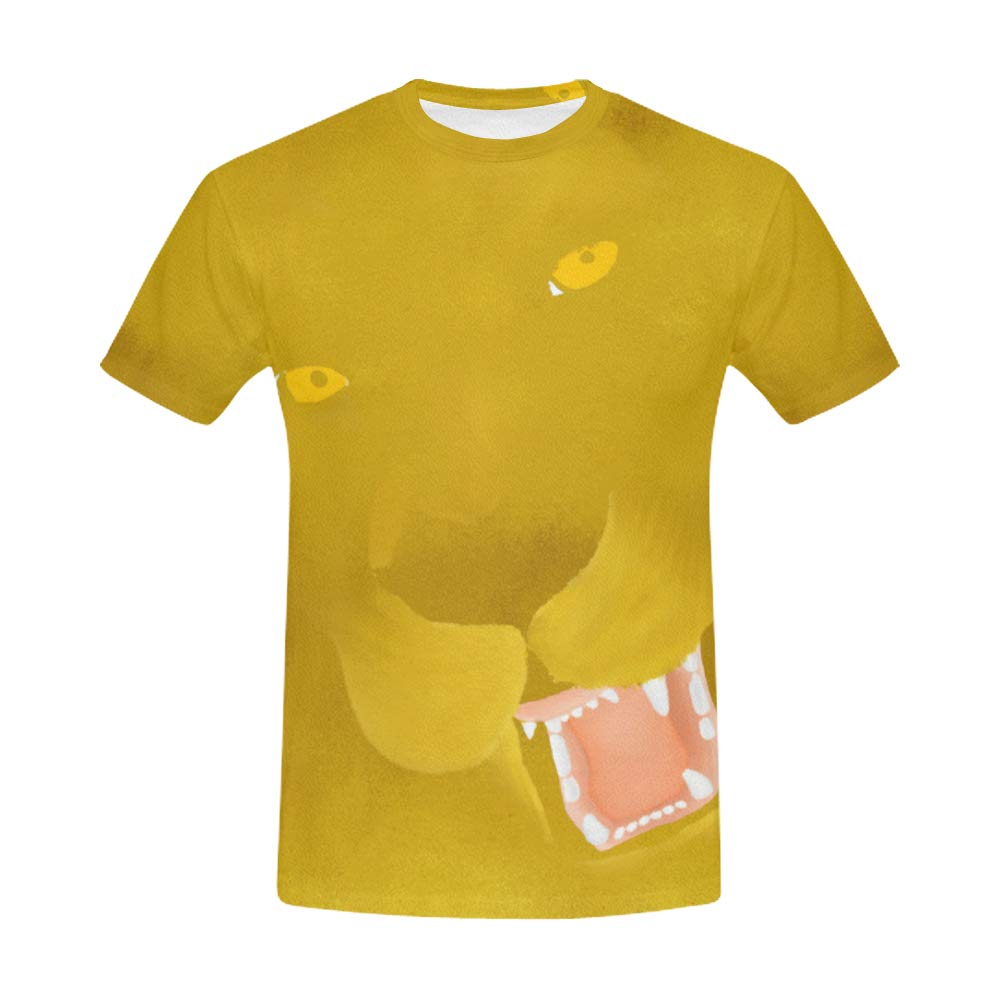 Nicole Kiefer Design Roaring Lion All Over Print Shirt