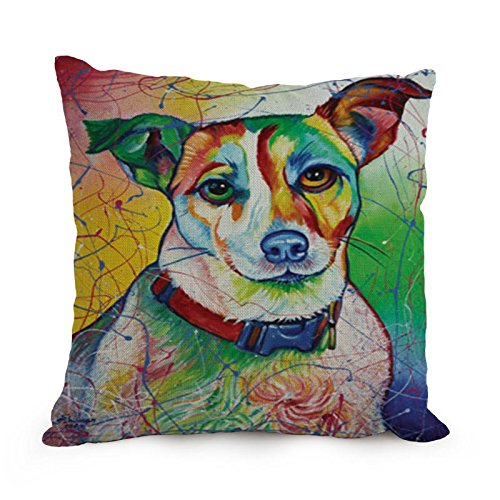 Beautifulseason 18 X 18 Inches / 45 By 45 Cm Dog Art (Group Home Theater Seating)