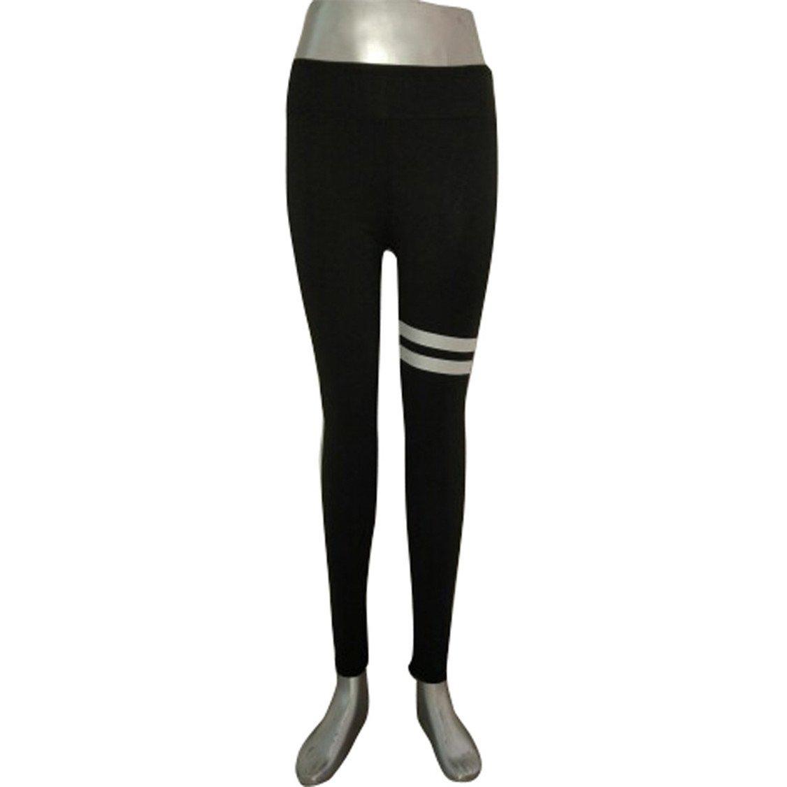 HARRYSTORE Mujer pantalones deportivos y elásticos de impresión Mujer polainas de yoga Fitness