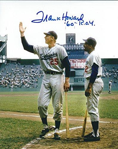 Autographed Frank Howard 8x10 Los Angeles Dodgers Photo