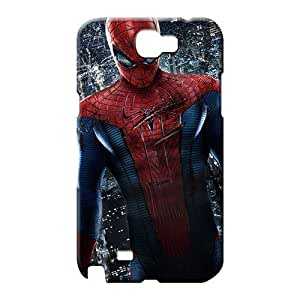 samsung note 2 Appearance High-end Hot New phone cover skin the amazing spider man movie