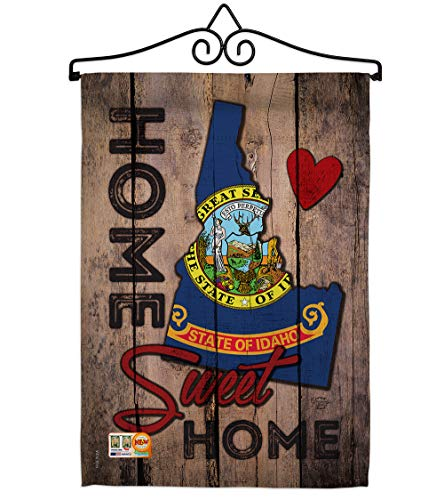 Ornament Collection GS191117-BO-02 State Idaho Home Sweet Americana States Impressions Decorative Vertical 13