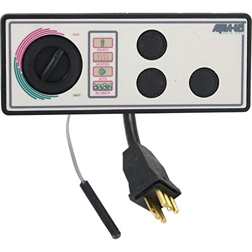 - Len Gordon 930840-516 Aqua-Set 3 Button Spa Control Panel