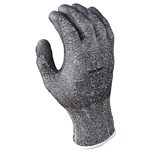 SHOWA 541 Polyurethane Palm Coated Glove with HPPE Liner, X-Large (Pack of 12 Pairs)