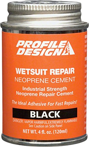 Profile Design Wet Suit Seal Cement Can (4-Ounce) (Neoprene Seal Cement)