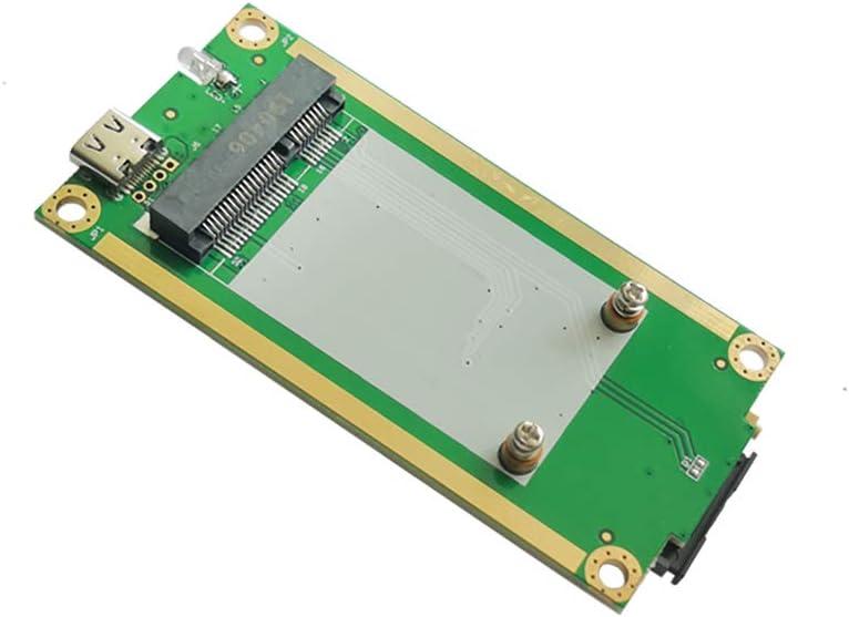 EXVIST 4G LTE Industrial Mini PCIe a USB (tipo C 3.1 ...