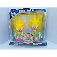 Sonic the Hedgehog 20th Anniversary Sonic Through Time 5 inch Action Figure 2-Pack