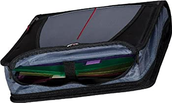 Case-it Mighty Zip Tab 3-inch Zipper Binder, Black, D-146-blk 4
