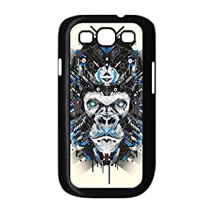 Animal Art Artificial DIY Cover Case with Hard Shell Protection for Samsung Galaxy S3 I9300 Case lxa#836330