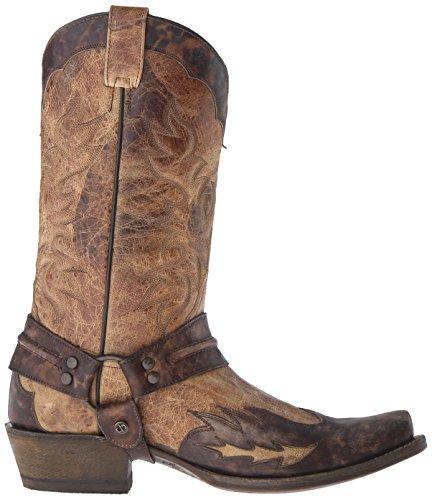 Stetson Menns Sundance Kid Riding Boot Tan