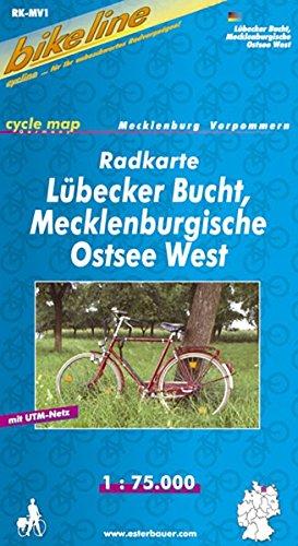 bikeline Radkarte: Lübecker Bucht, Mecklenburgische Ostsee West. GPS-tauglich mit UTM-Netz