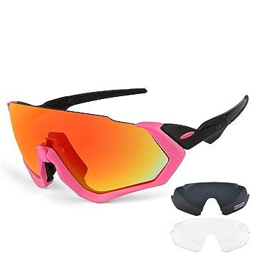 QA.SPG Gafas de Ciclismo polarizadas Bicicleta Gafas de Sol ...