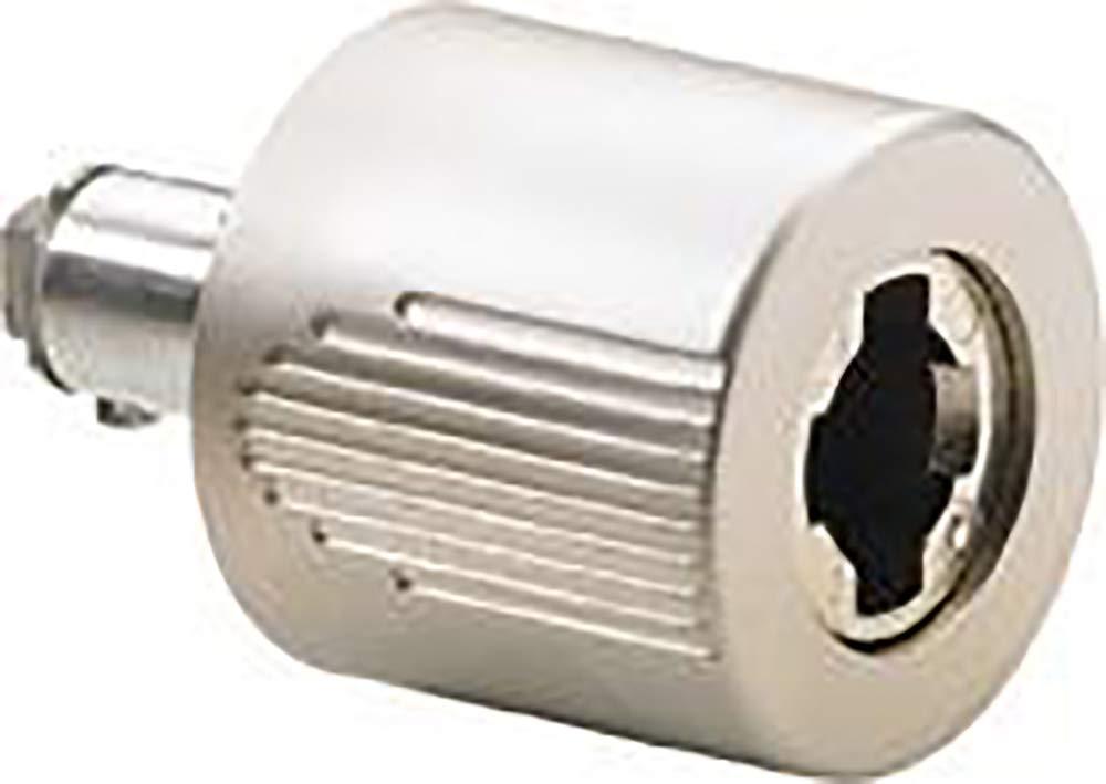 /zylinder-drehgriff Format 4023149859434/ rechtsmatt vernickelt Typ 451/N