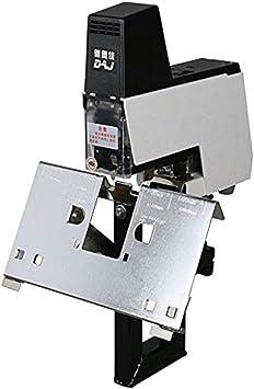 110//220V Flat Saddle Binder Electric Auto Rapid Stapler Binding 2-50 sheets Tool