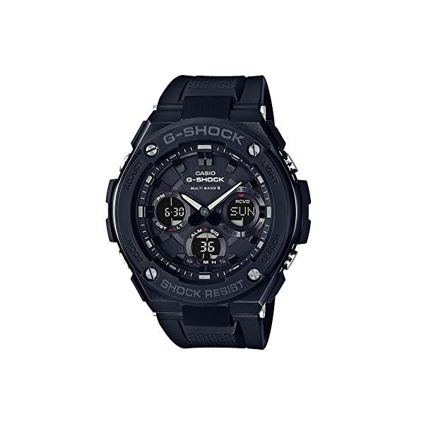 CASIO Reloj Analógico-Digital para Hombre Correa en Resina GST-W100G-1BER 2
