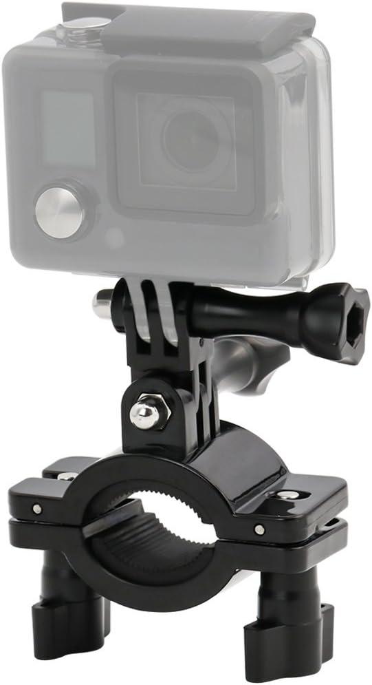 EXSHOW Soporte para GoPro Hero 7 6 5 4 3 2, Soporte Camera para Bike Moto Manillar