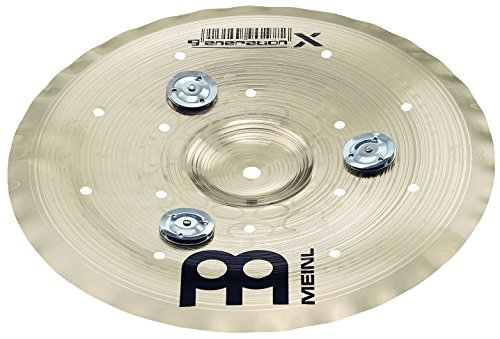Meinl Cymbals GX-12FCH-J Generation-X 12-Inch Filter China Cymbal with Jingles (VIDEO)